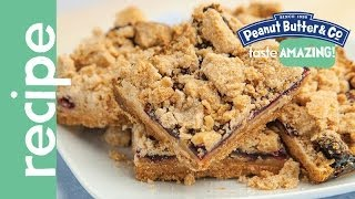 Peanut Butter Blueberry Pie Bars Recipe