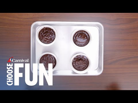 Melting Chococlate Cake Recipe (with Description) | Carnival Cruise Recipes | Carnival Cruise Line