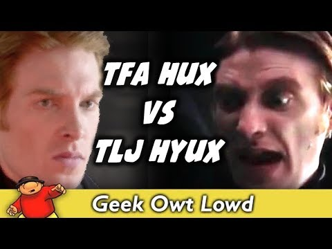 General Hux VS General Hyux - Force Awakens VS Last Jedi