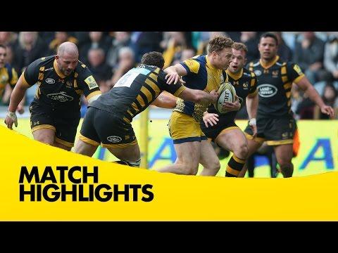 Wasps v Worcester Warriors - Aviva Premiership Rugby 2016-17