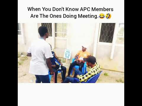 Comedy Skit Video:- SMGcomedy - APC Members