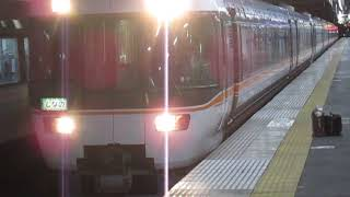特急しなの22号名古屋行383系松本駅発車※発車メロディーあり