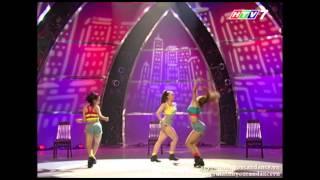[SYTYCD3][Chung Kết 1] Tiết Mục Jazz - Phạm Lịch - Xuân Thảo - Kim Anh