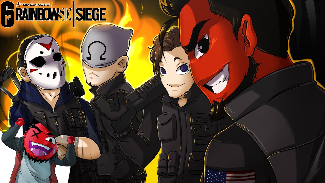 Rainbow Six: Siege   THE COMEBACK SQUAD! (w/ H2O Delirious, Bryce, & Ohmwrecker)