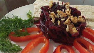 сВЕКЛА для похудения.Самый лучший салат ЗДОРОВЬЯ из СВЕКЛЫ и МОРСКОЙ КАПУСТЫ
