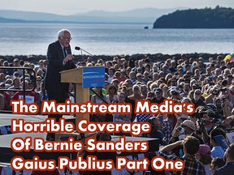 The Mainstream Media's Horrible Coverage Of Bernie Sanders ...