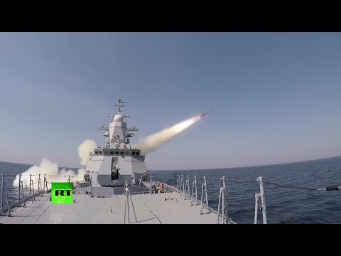 Russian Corvette Launches Anti-ship Missile During Drills In Baltic Sea