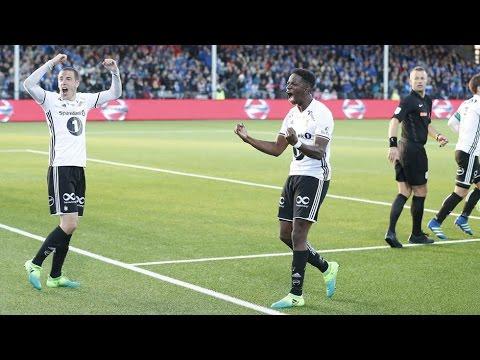 Høydepunkter: Sarpsborg 08 - Rosenborg 1-2