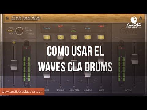 Como Usar El Waves CLA Drums - YouTube