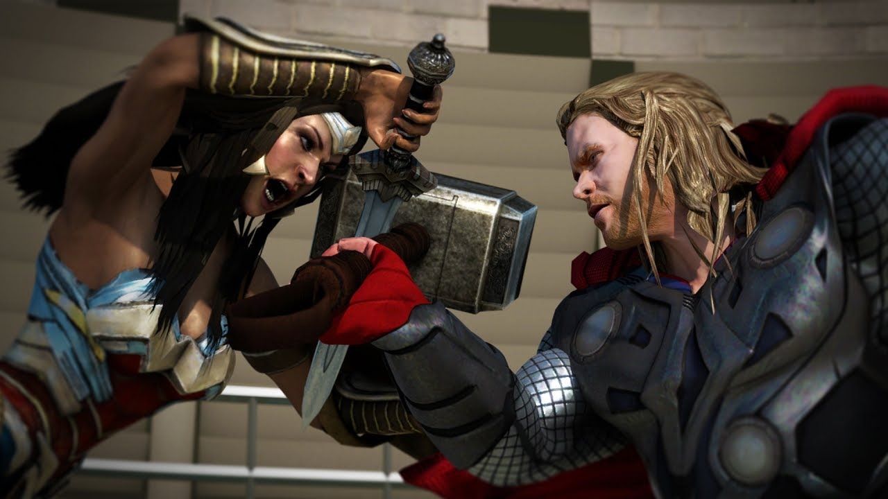 Thor Vs Wonder Woman - Youtube-9978