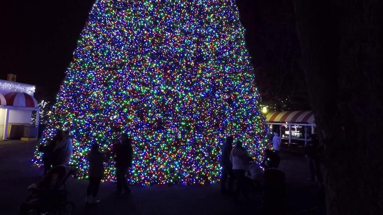 Kennywood Christmas.Kennywood Holiday Lights 2018