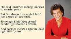 Conway Twitty - Tight Fittin Jeans with Lyrics