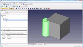 FreeCAD Tutorial Part 1 Primitives