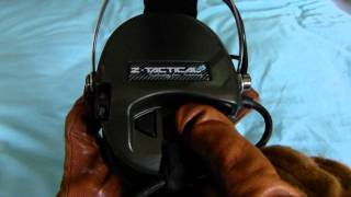Z-Tactical MSA Sordin Communications Headset Review