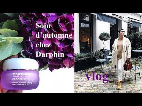 Vlog : soin d'automne chez Darphin