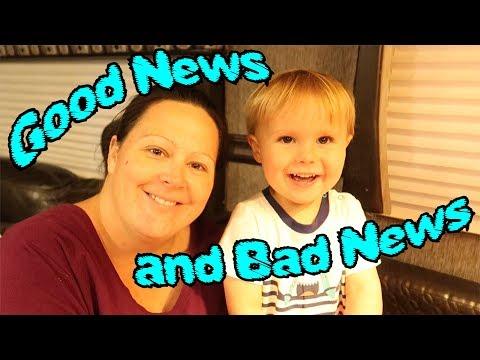 Good News and VERY Bad News!