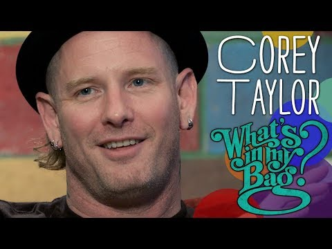 Corey Taylor - What's in My Bag?