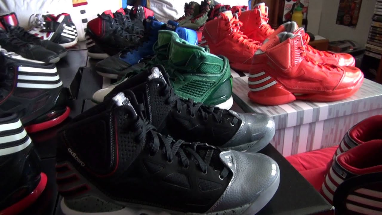 derrick rose adidas collection