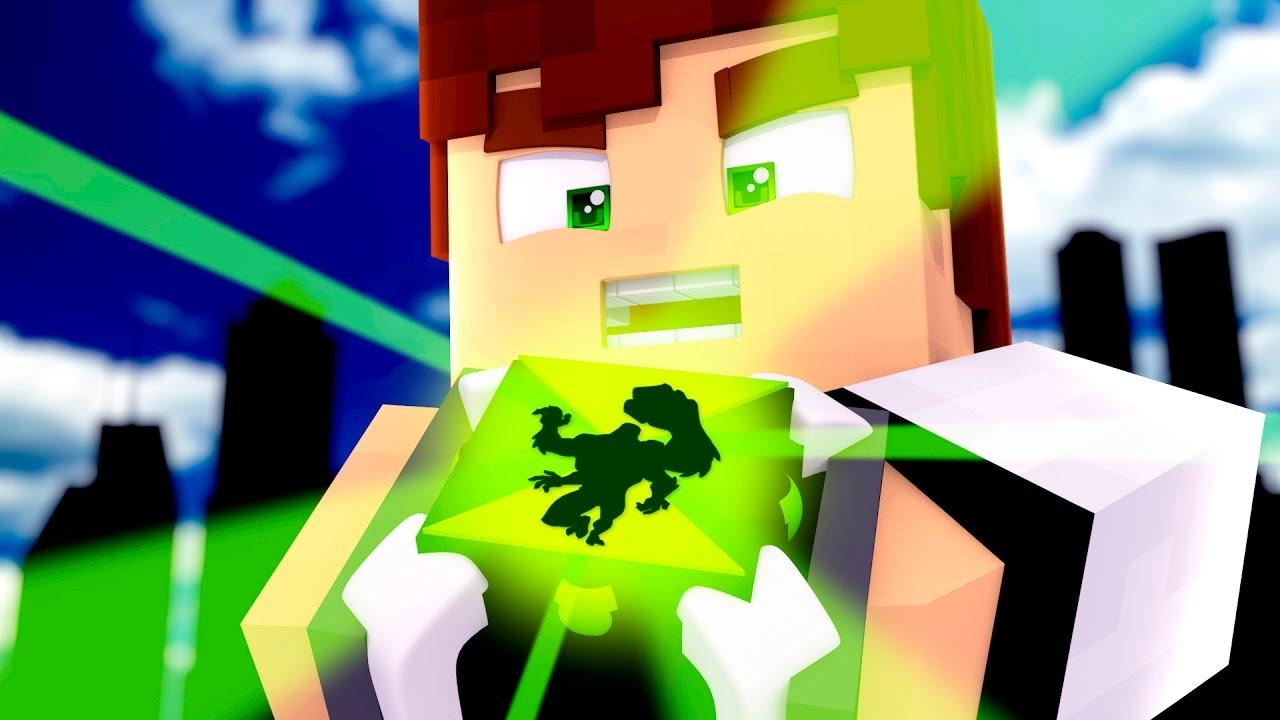 bdd1af14408 Minecraft  BEN 10 NO MINECRAFT !! - YouTube