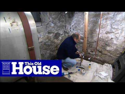 how to install a water pressure reducing valve this old house youtube. Black Bedroom Furniture Sets. Home Design Ideas
