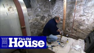 How to Install a Water Pressure Reducing Valve - This Old House