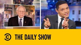 Bernie Sanders Is Back With A Bang | The Daily Show with Trevor Noah