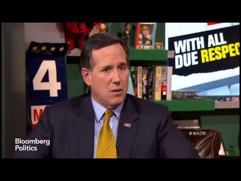 Is Rick Santorum Going to Run in 2016?