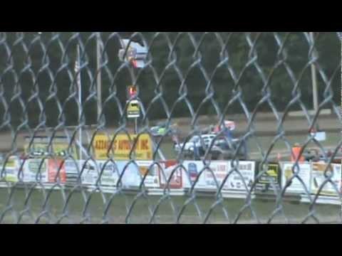 2012 ALBANY SARATOGA SPEEDWAY PETER BRITTEN & MARK KISLOWSKI BIG SHOW 4 HEAT RACE DIRTcar SERIES