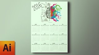 Illustrator Tutorial: Create a Calendar in Adobe Illustrator