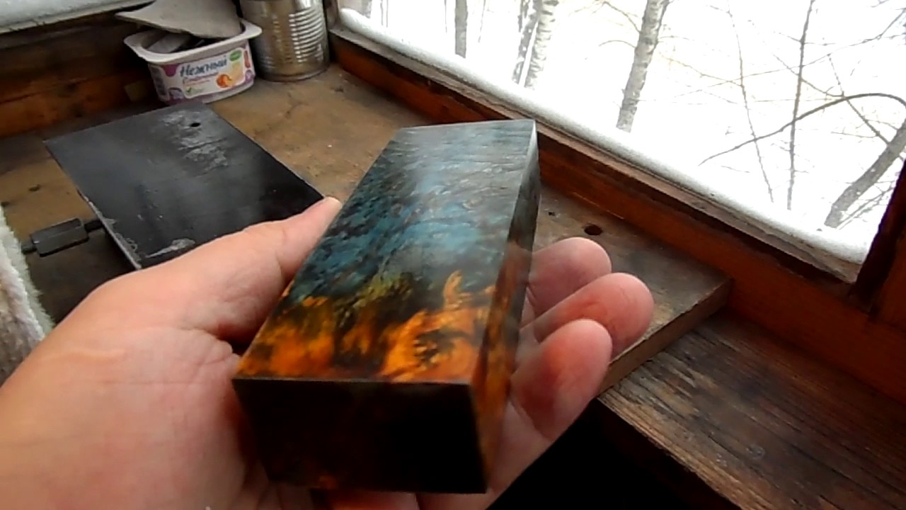 Стабилизированная древесина в домашних условиях 73