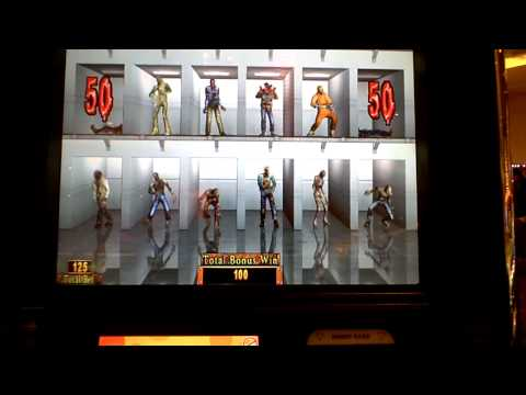 House of the Dead EX slot machine bonus win at Parx casino