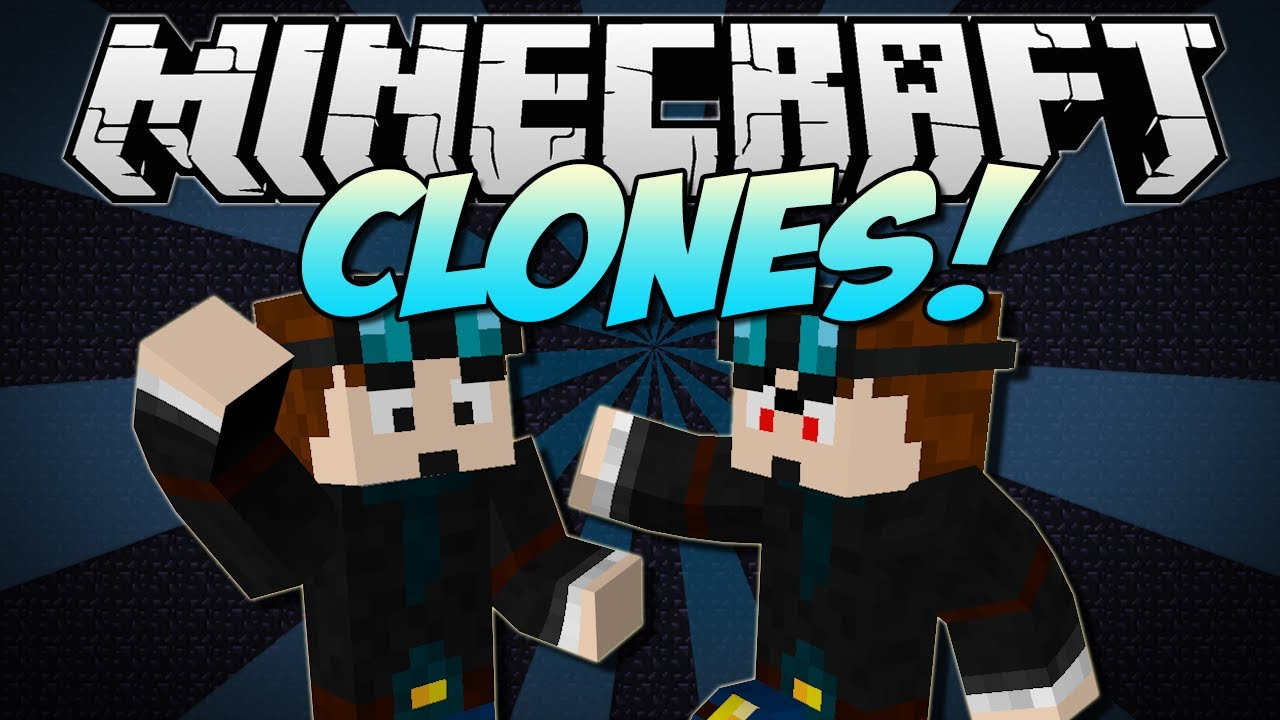 Minecraft clones copy yourself or any mob mod - Diamond minecart clones ...