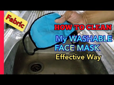How to Clean & Sterilize my Fabric Face Masks | IN EFFECTIVE WAY | Using Germicidal Soap✓ ( 2020 )