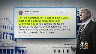 Trump Ramps Up Attacks On Rep. Cummings