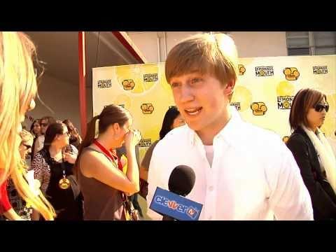 Jason Dolley 'Lemonade Mouth' Movie Premiere Interview