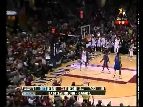 [NBAD]LeBron James Sick Pass To Joe Smith Vs The Pistons