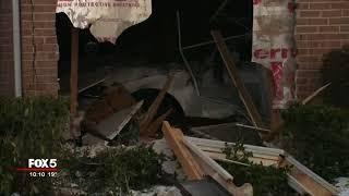 Car crashes into Stone Mountain home