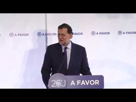 Mitin de Rajoy en su visita a Ceuta