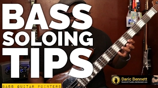 SOLO PRACTICE TIPS FOR BASS GUITAR!   251 Progression cont'd ~ Daric Bennett's Bass Lessons
