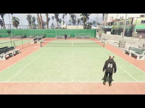 Tennis 👟 gta5 online solo