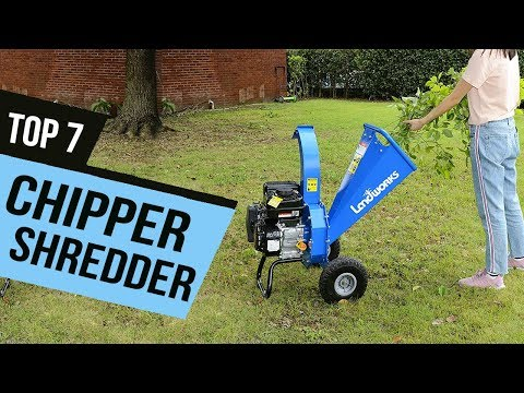 BEST CHIPPER SHREDDER! (2020)