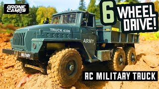 RC MILITARY TRUCK - 6WD SOVIET URAL 4320 Transport Truck - Review & Payload Drive Test