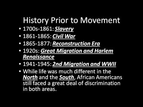 Civil Rights Movement Overview