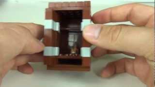 Lego Tutorial: How To Build A Single Wardrobe