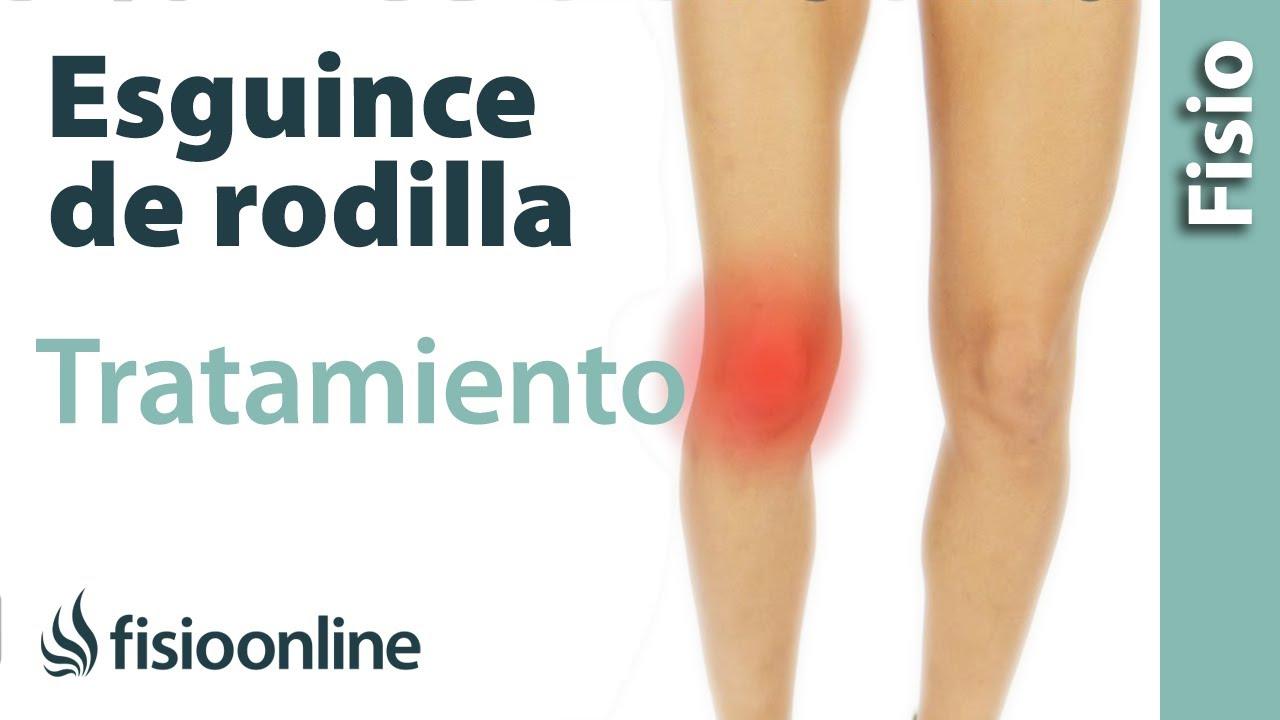 Esguince de ligamento lateral interno de rodilla - Tratamiento en su ...