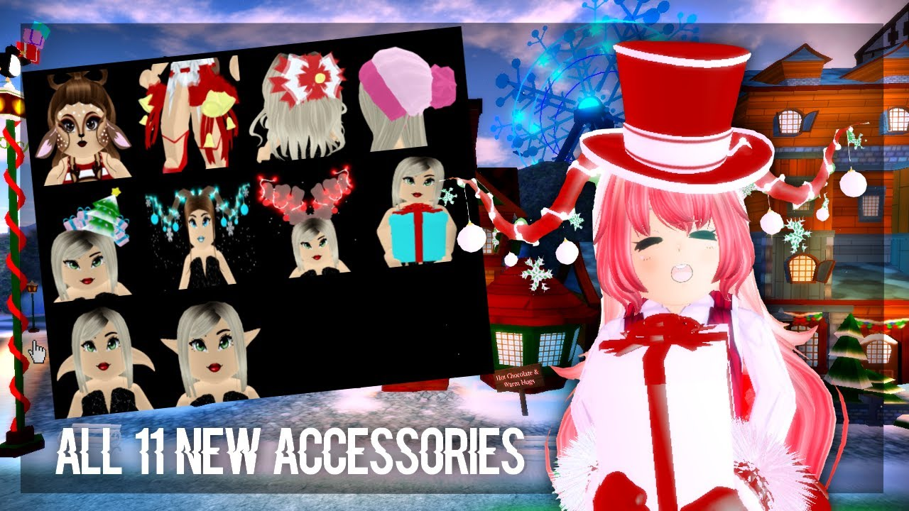 Royale High Christmas 2020 Royale High   All New 11 Accessories From the Christmas Presents