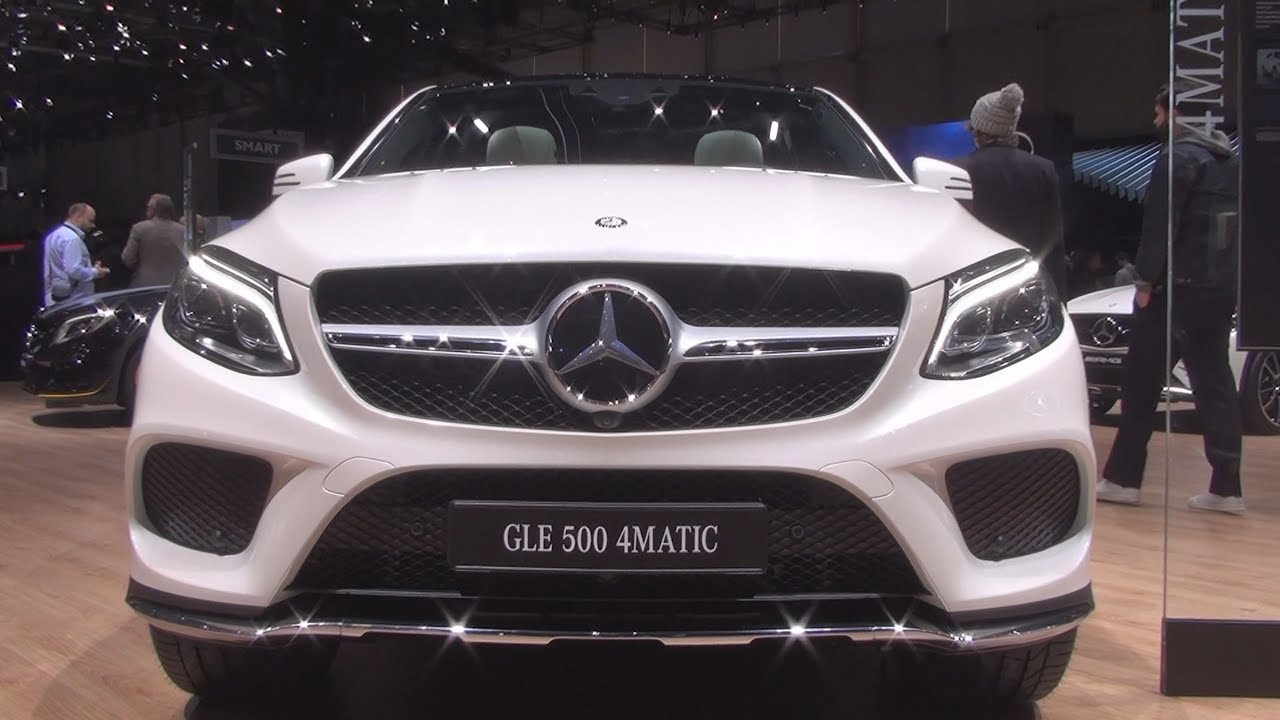 Mercedes Benz Gle 500 4matic Coupé 2017 Exterior And Interior In