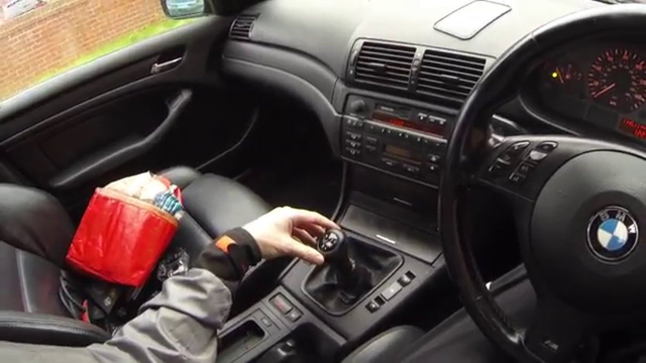 bmw e46 loose wobbly manual gear stick [ 1280 x 720 Pixel ]