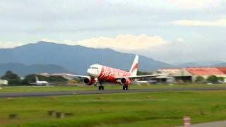 Video Air Asia Airbus A320 take off Kota Kinabalu (BKI) download MP3, 3GP, MP4, WEBM, AVI, FLV Juni 2018