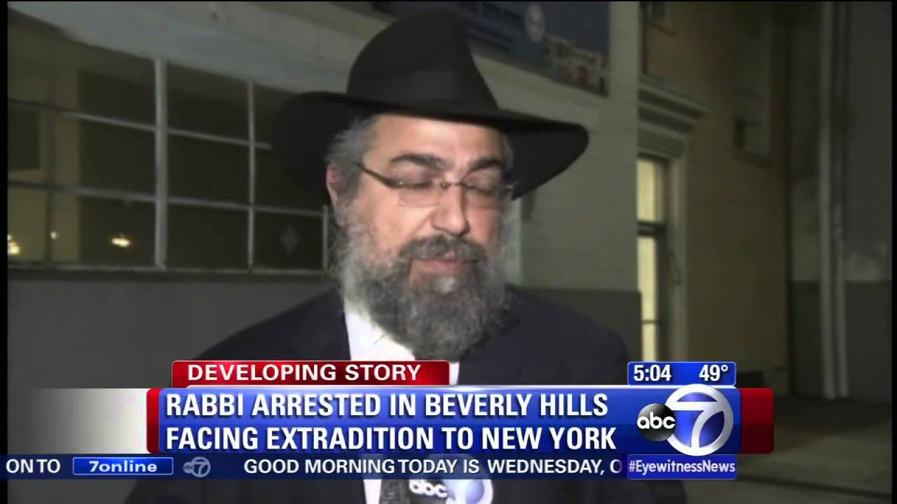 Rabbi arrested on sexual